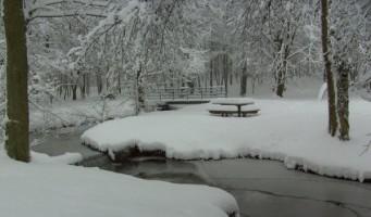 Le Nouvion-en-Thiérache sous la neige < Aisne < Picardie